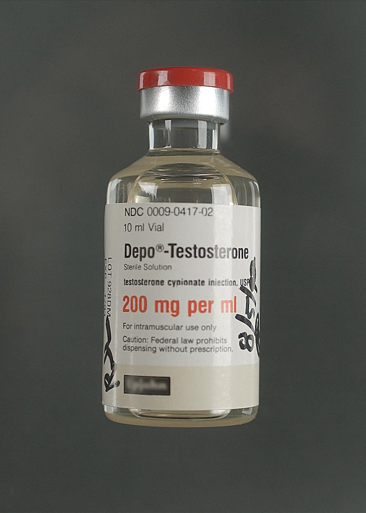 depo testosterone bottle