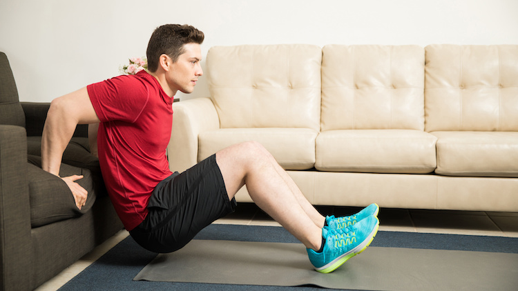 home dips exercise