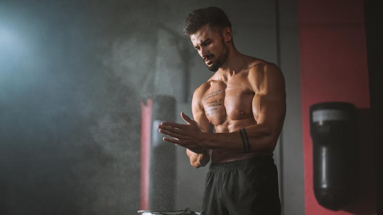 man workout ready